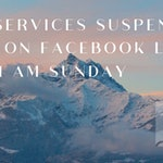 Sunday Services Cancelled